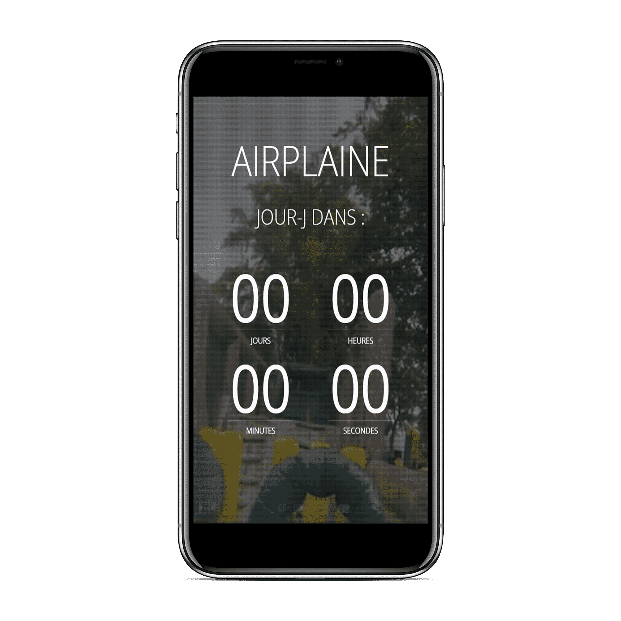 Site web AirPlaine Ozanam Mobile