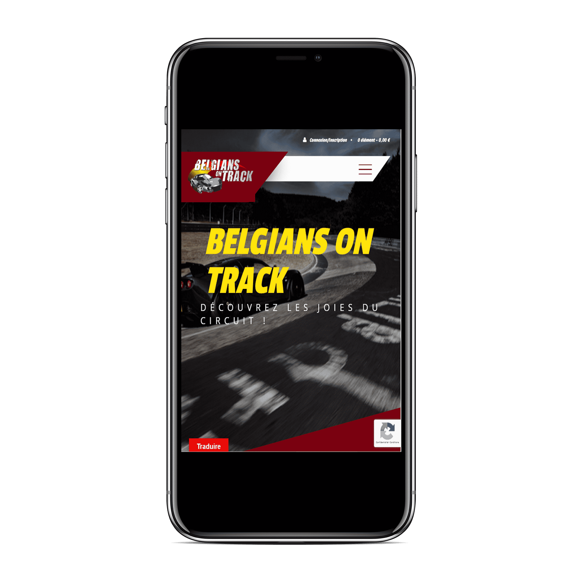 Site Belgians On Track mobile